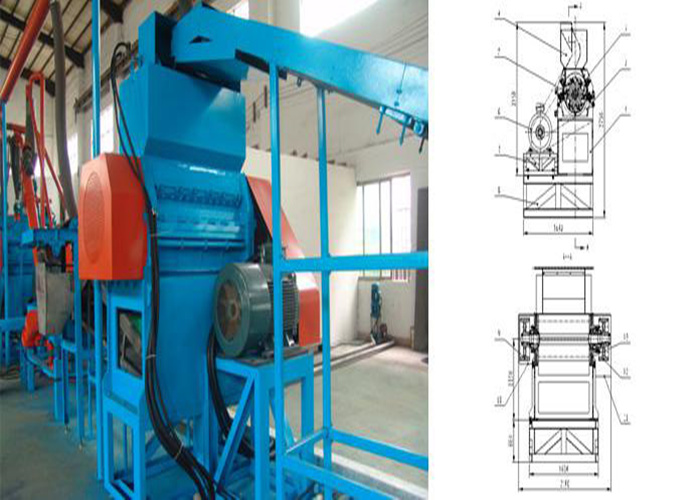 Rubber block rubber mill